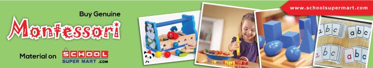 Buy genuine montessori material on schoolsupermart